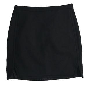 J. Crew Black Wool Skirt Size 2